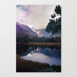 Mirror Lakes Canvas Print