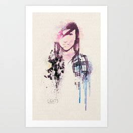 Poxleitner LiGHTS ver.2 Art Print