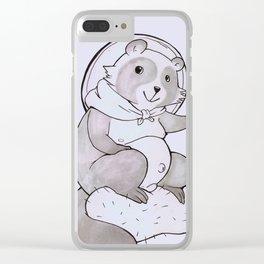 Tanuki Clear iPhone Case