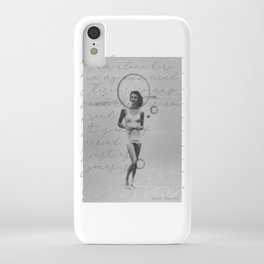 """""""I am alone here in my own mind. There is no map and there is no road...― Anne Sexton iPhone Case"""