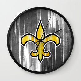 who dat Wall Clock