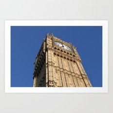 Big Ben, London (2012) Art Print