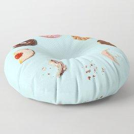 Donut Phases Floor Pillow