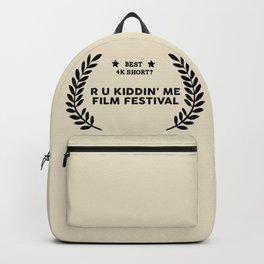 Film Festival Winner : Best 4K Short Backpack