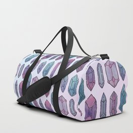 Watercolor Crystals Duffle Bag