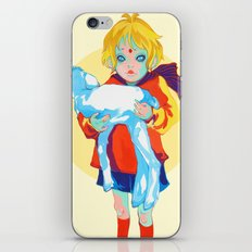 Little Prince and his sheep iPhone & iPod Skin