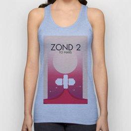 Zond 2 'To Mars' Unisex Tank Top