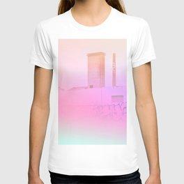 Concrete Flowers and Graffiti T-shirt