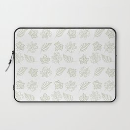 Leaves Pattern Laptop Sleeve