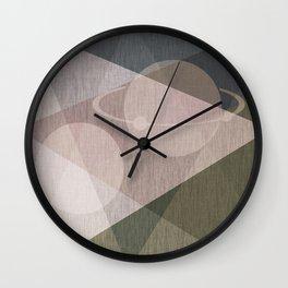 Abstraction , space , fantasy Wall Clock
