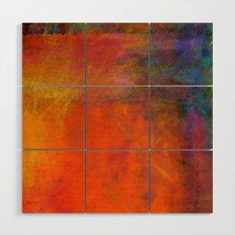Orange Study #2 Digital Painting Wood Wall Art