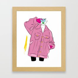 Fashion Can't Escape 2 Framed Art Print