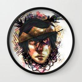 Gleam Diamond Punk King Wall Clock