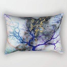 Marble through Tree Branches Rectangular Pillow