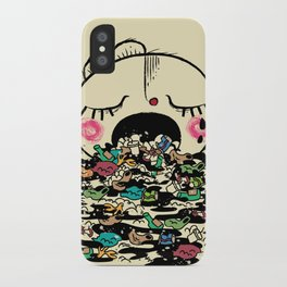 Save the fishes iPhone Case