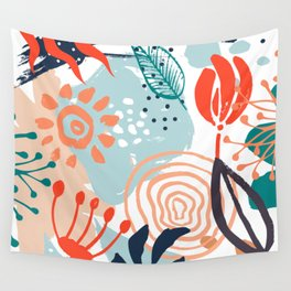 Essence of Spring Wall Tapestry