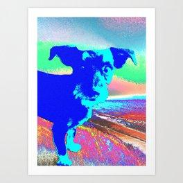 Puppy Pop Art Print
