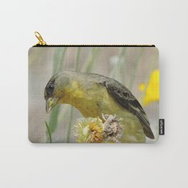 Feasting Finch Carry-All Pouch