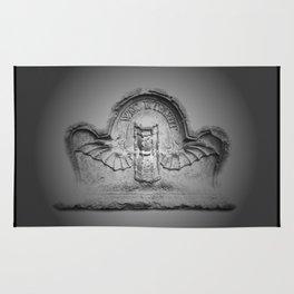 Flying hourglass Rug