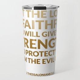 2 Thessalonians 3:3 Travel Mug