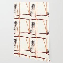 Eye pencil landscape Wallpaper