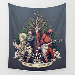 Welcome to Greenvale Wall Tapestry