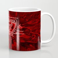 liverpool Mugs featuring LIVERPOOL LOVER by Acus