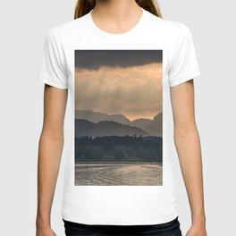 Sunset at Lake District T-shirt