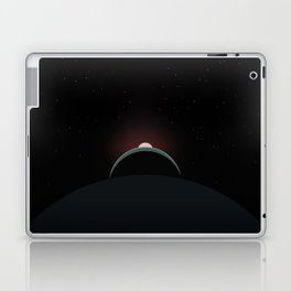 2001 Space Odyssey Sun, Earth, Moon Alignment Laptop & iPad Skin