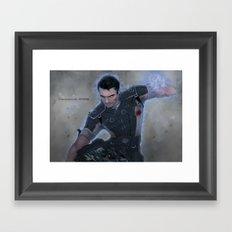 Kaidan Alenko - Vancouver 2186 Framed Art Print