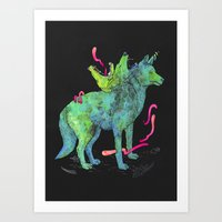 kozyndan Art Prints featuring Desert Dreamer Uno by kozyndan