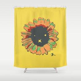Peace R E M I X Shower Curtain