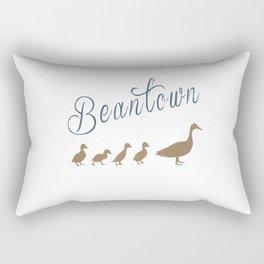 "Boston ""Beantown"" Make Way For Ducklings Rectangular Pillow"