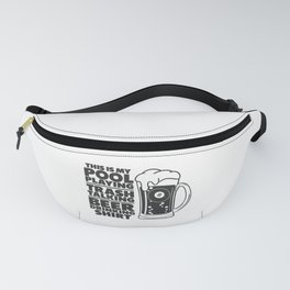 Pool Player Cue Game Sports Billiard Players Fanny Pack