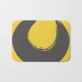 Amarelo cinza 01 Bath Mat