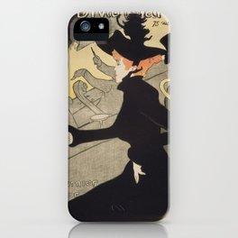 Henri Toulouse Lautrec / Divan Japonais iPhone Case