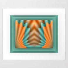 The Pendant Art Print