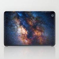 milky way iPad Cases featuring Milky Way by Zavu