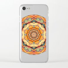 mandala#31 Clear iPhone Case