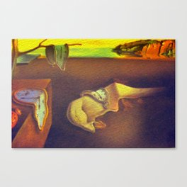 The Persistence of Memory  Canvas Print