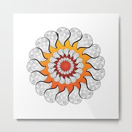Sunpod Metal Print
