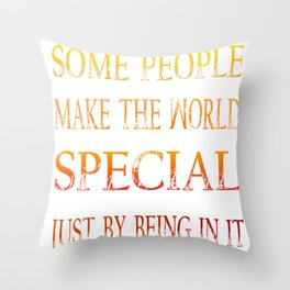 my special friend Throw Pillow