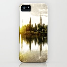 Idaho Falls Temple - Sunrise iPhone Case