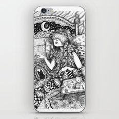I Want to be a Princess When I Wake Up iPhone & iPod Skin