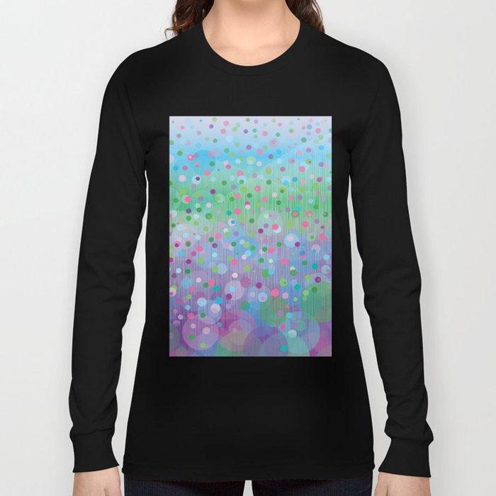 Colorful Rain Long Sleeve T-shirt