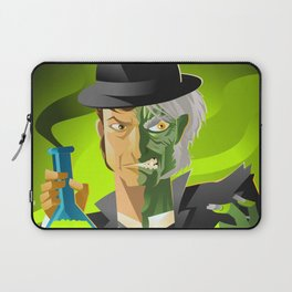 doctor jekyll and mister hyde monster tranformation with green potion Laptop Sleeve