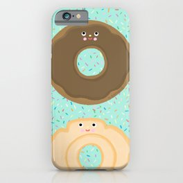 Donuts! Cute and yummy donut friends. iPhone Case