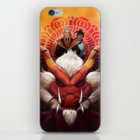 zuko iPhone & iPod Skins featuring Korra and Zuko by Meder Taab