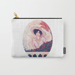 Gina in the garden Carry-All Pouch