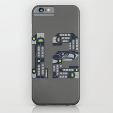 Seattle 12th Man iPhone 6s Slim Case